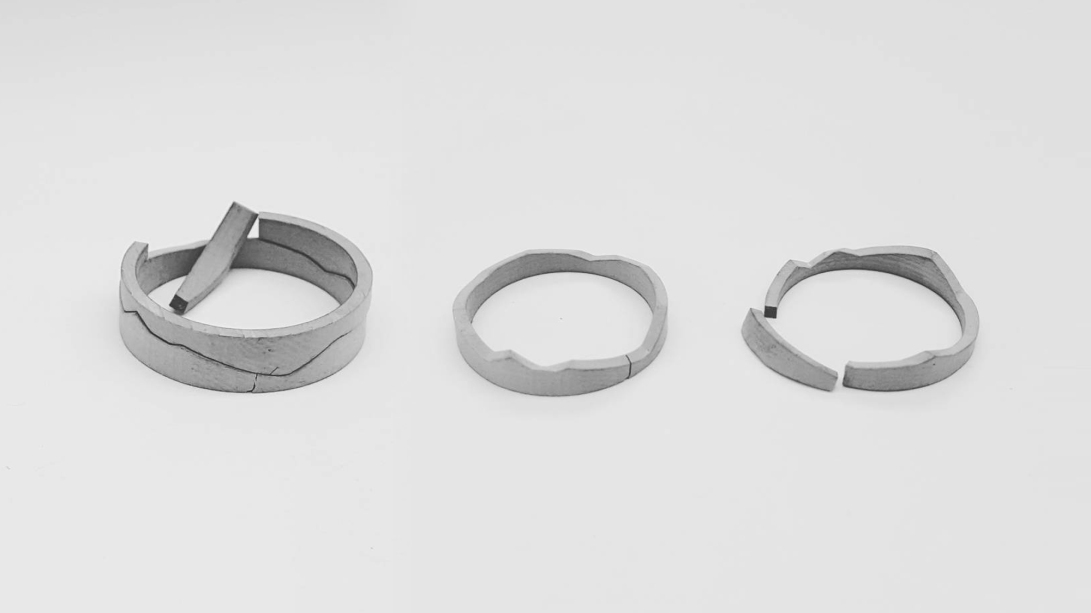 cracked ring pair